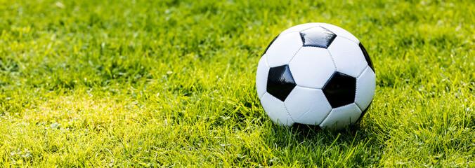 Fussball im Grass © karepa