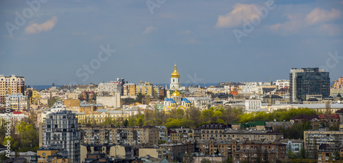 panorama of Kiev in the spring - 201934375