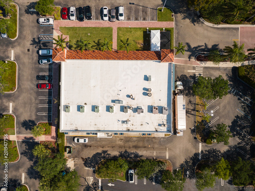 Fridge magnet South Florida Urban Aerial Photography.
