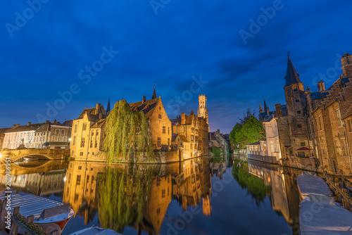 Plexiglas Brugge Rozenhoedkaai