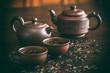 Set for tea ceremony