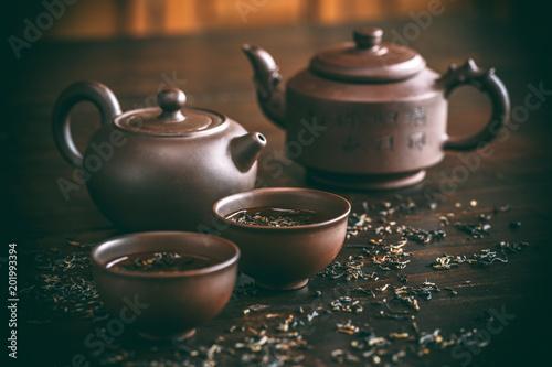 Fototapeta Set for tea ceremony