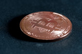 copper coin crypto-currency bitcoin - 202008758
