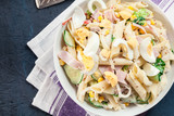 Macaroni salad with ham and other - 202025325