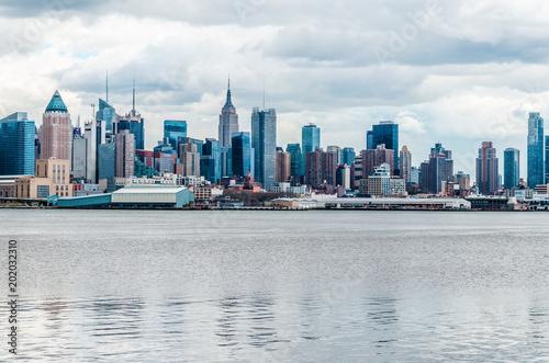 Plexiglas New York New York Cityscape Skyline, NYC