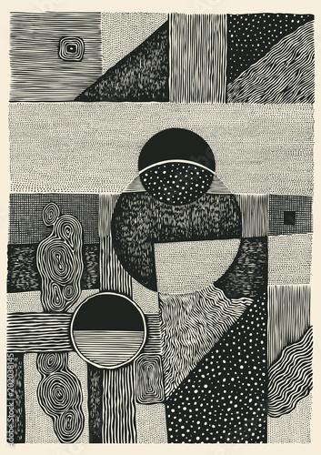rysowanie-poltonowych-tekstur-recznie-rysowane-streszczenie-tlo-ilustracja-wektorowa
