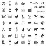 Farm & Animals - 44 Icons - 202041710