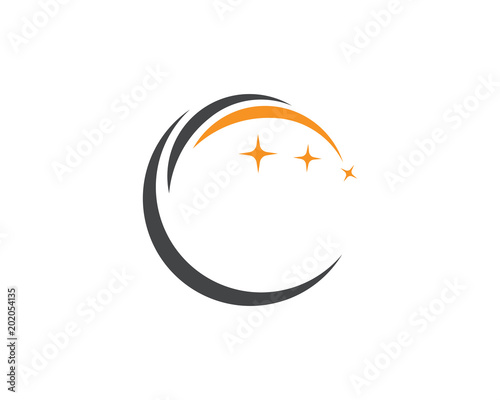 C Technology circle logo and symbols Vector,