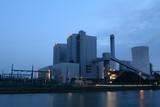 Kohlekraftwerk Industrie blaue Stunde Nacht Blockkraftwerk Stöcken