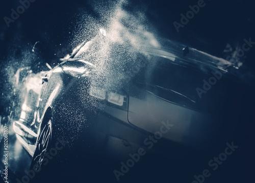 Koncepcja Blue Car Wash