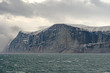 HIgh Cliffs Under Dramatic Clouds