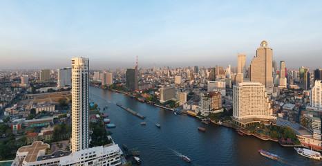 Bangkok panorama - Thaïlande © Beboy