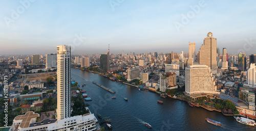 Aluminium Bangkok Bangkok panorama - Thaïlande