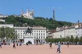 Place Bellecour à Lyon (France). - 202122376