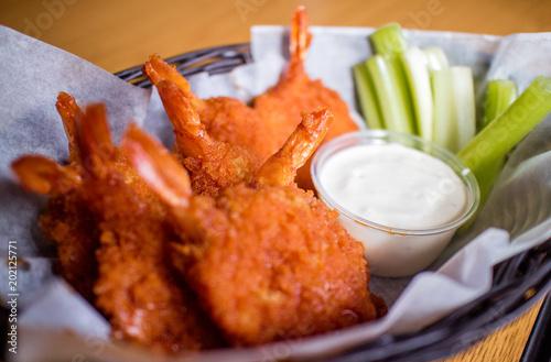 Foto Murales Deep Fried Shrimp