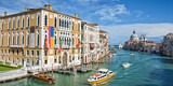 Venice Italy, panorama of the Grand Canal - 202144709