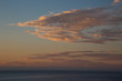 Clouds in the sky at sunset over the sea - 202163167