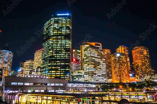 Plexiglas Sydney Sydney city Harbour, Australia