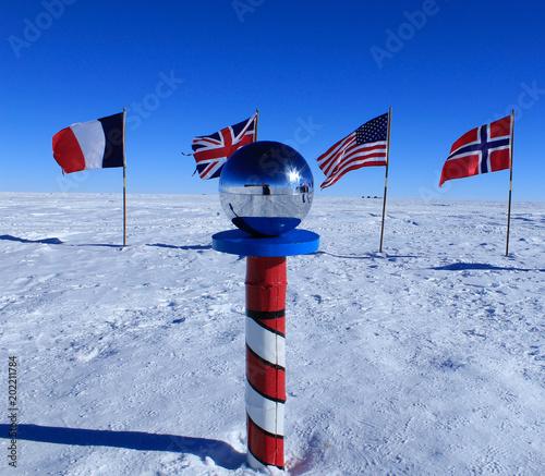 Foto Spatwand Antarctica The South Pole, Antarctica