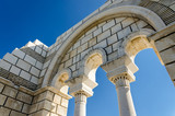 Details of ruins of The Great Basilica of Pliska, Bulgaria - completed around year 875 - 202258783