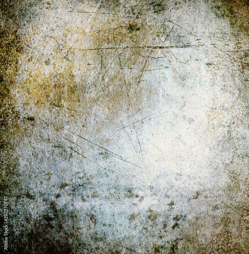 Abstract grunge background with stone texture brown, light blue, white