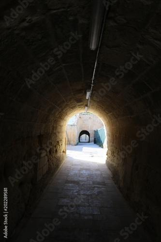 Tunel do Valletta Ditch, Malta