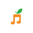 Organic Music Logo Icon Design - 202293184