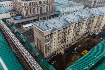 Panorama from the roof of the Russian Parliament