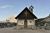 Kapelle,101 Wanderweg, Drei-Zinnen-Wanderweg, Sextener Dolomiten, Italien, Europa