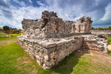 Archaeological ruins of Tulum in Mexico - 202346953