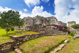 Archaeological ruins of Tulum in Mexico - 202352309