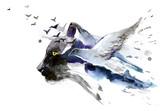 predator and bird - 202367784