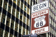 Begin of Route 66 in Chicago