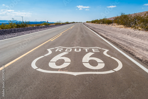 Canvas Route 66 Route 66