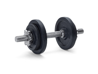 Dumbell isolated on white © supachai
