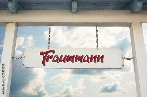 Schild 311 - Traummann