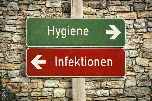 Schild 316 - Hygiene