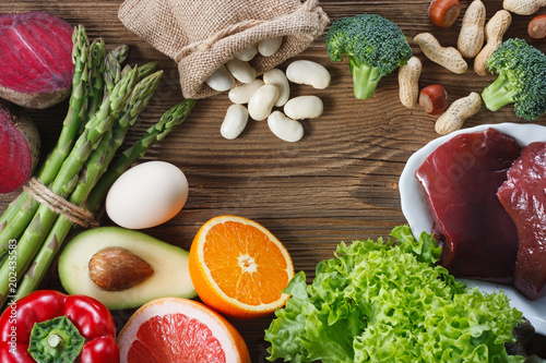 Natural sources of folic acid