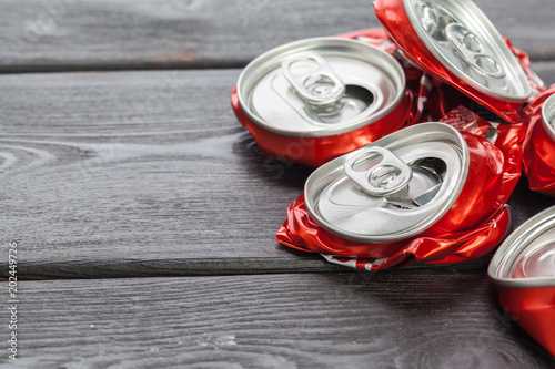 aluminum cans. recycling.