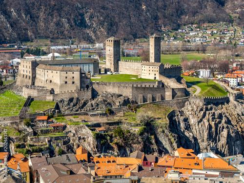Castelgrande, Bellinzona, Schweiz