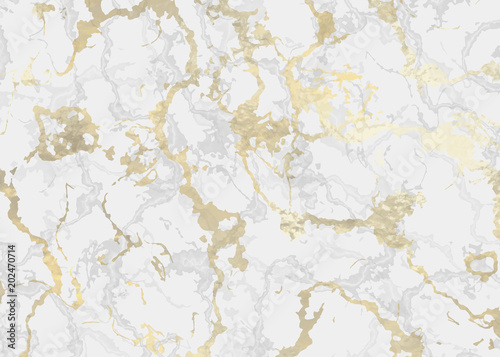 Marble with golden texture background