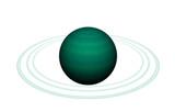 Fototapeta Space - Planet Saturn im Sonnensystem  © Dr. N. Lange
