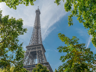 Image Of Tallest Iron Structure, Close Shot, Shot At Paris