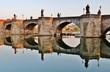 Leinwanddruck Bild - Würzburg, Alte Mainbrücke