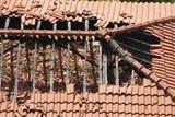 Dachruine, Kaputtes Dach - 202476303