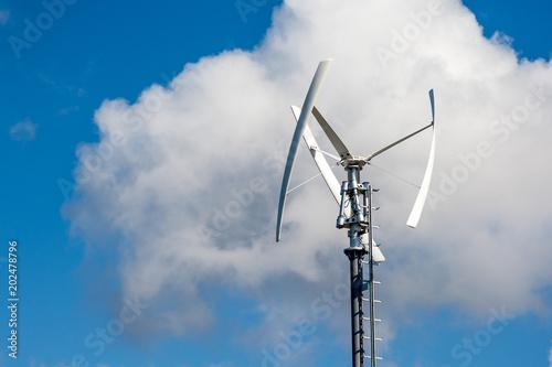 Moderne Windkraftanlage