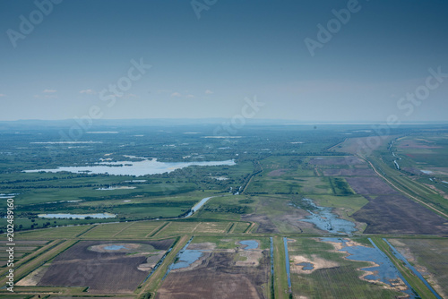 Agricultural Land Damaged by Aggressive Agriculture