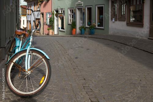 Fahrrad in der Altstadt