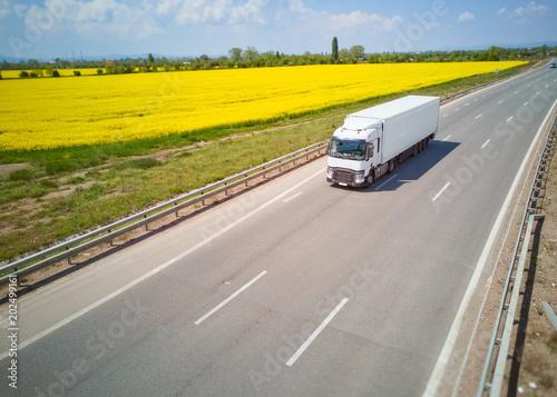 Cargo Trucks and Roads