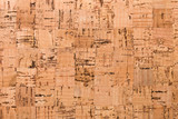 Close Up Background and Texture of Cork Board Wood Surface, Nature Product Industrial - 202575325
